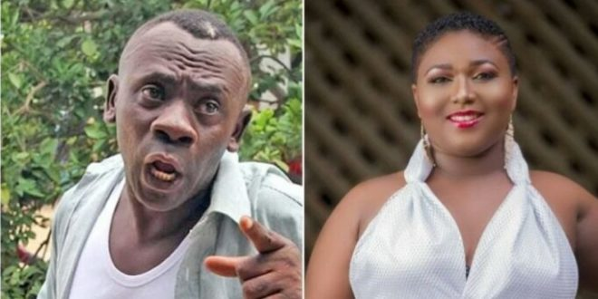 Photos: Xandy Kamel is crushing on Akrobeto and she wants to Kiss him