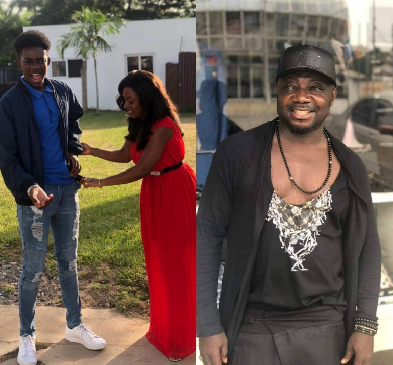 See Photos: Identity of Nana Ama Anamoah's Baby Daddy Exposed?