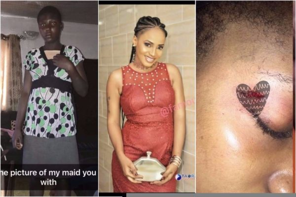 Lady calls out her partner for assaulting her and sleeping with their maid