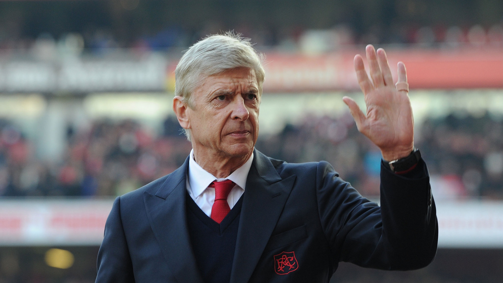 Arsene Wenger stepping down as Arsenal manager at end of the season