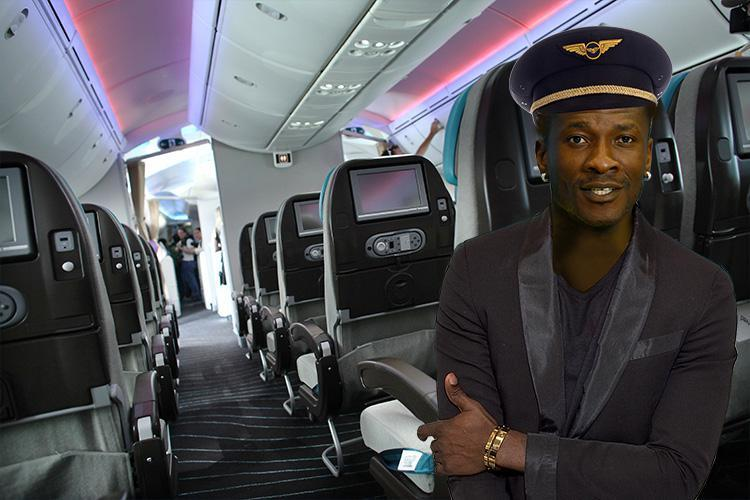 Asamoah Gyan starts recruiting cabin crew for his BabyJet Airlines