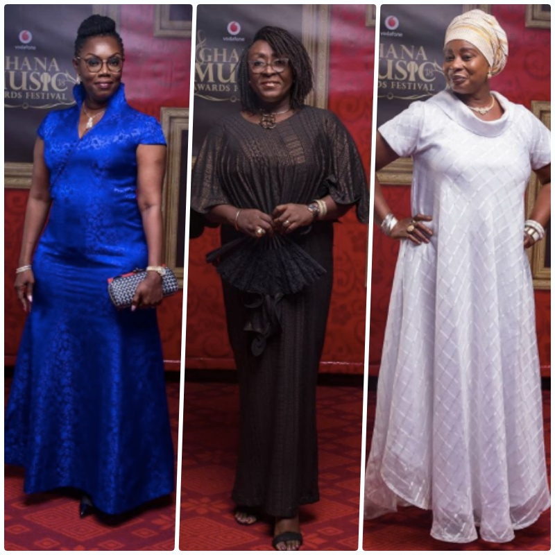 Refuse to Grow! These old folks rocked 2018 Ghana Music Awards red carpet with style