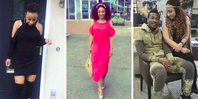Photos: See Asamoah Gyan's Beautiful Wife