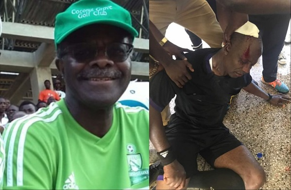 Sharks fans did not attack Referee Liman - Dr Nduom