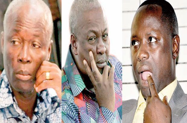 Mahama's ministers in double salary scandal