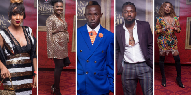 #2018VGMAs Photos: Dazzling Photos of Ghana's Finest Celebrities at the 2018 VGMAs