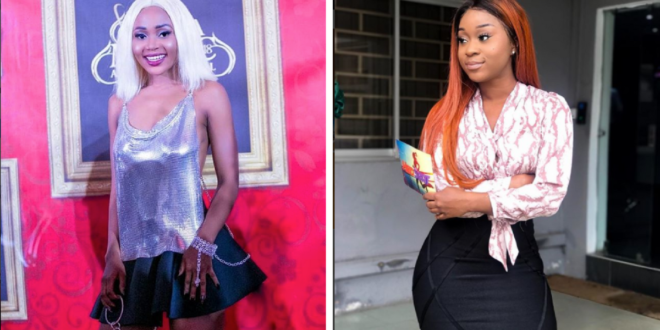 Vidoe: Rosemond aka Akuapem Poloo challenges Afia Odo to come and face her if she it though.