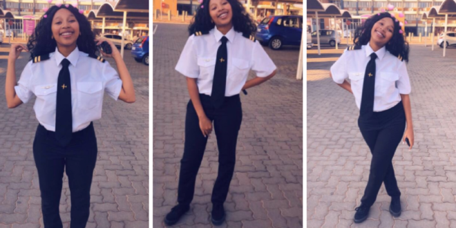 This Female Pilot Who Can Now fly Private Planes Is Warming Hearts On Twitter