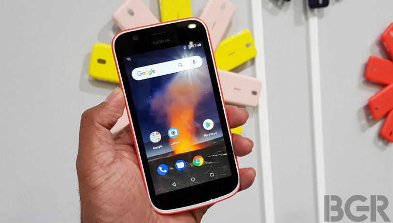 Nokia 1 smartphone on Android (Go edition) offers an affordable smartphone experience to Ghanaians