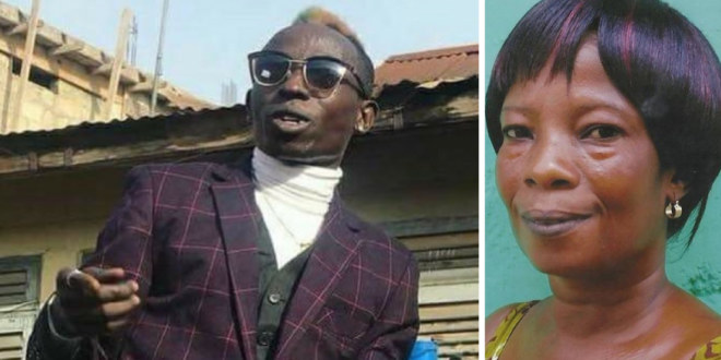 Patapaa Shares A Picture Of His Mother & Says She's The Best Mom In The World