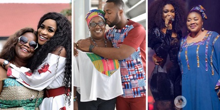 Celebrities share photos of their mothers on Mother's Day