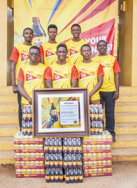 "Malta Guinness commends the ""Greatness"" of Opoku Ware (OWASS) for winning Robotics championship"