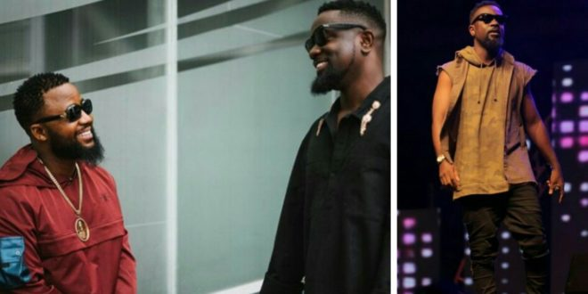 Sarkodie gets New Title from South Africa's Cassper Nyovest