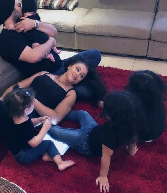 Nadia Buari Flaunts Her Four Children on Social Media