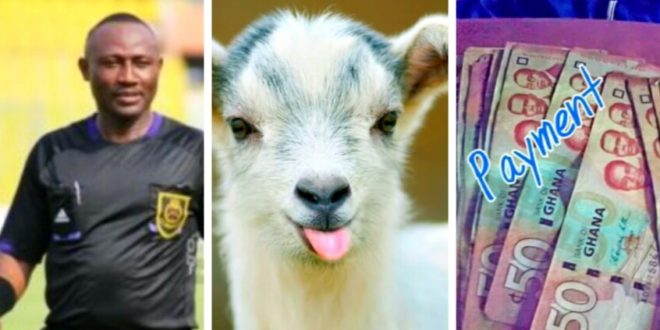 How Referee Samuel Suka Exchanged Asante Kotoko's Destiny With A Goat & GH¢2000 Bribe
