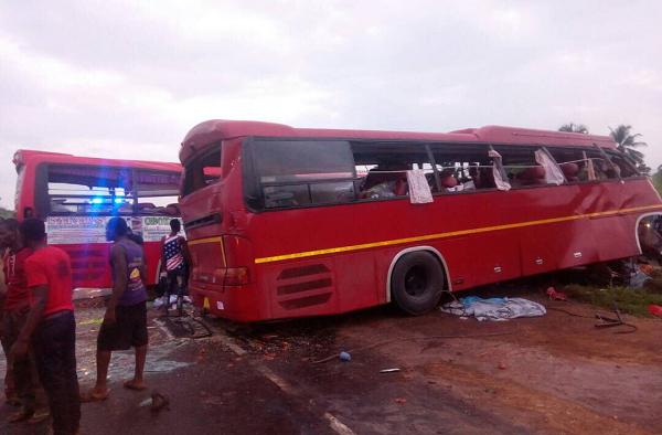 Eight dead in accident near Suhum
