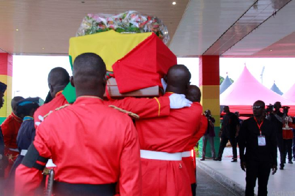 Amissah-Arthur's funeral rites in pictures