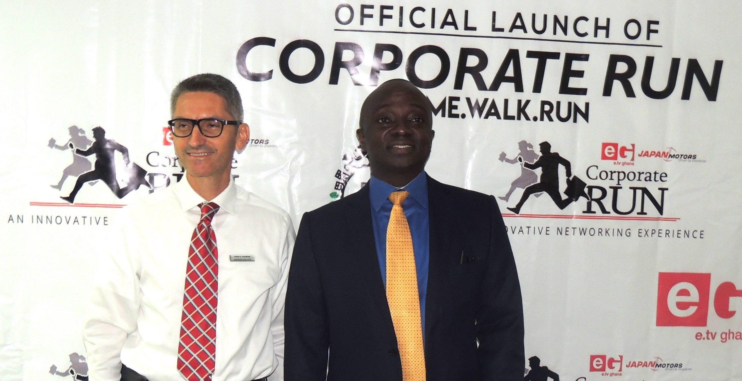 e. TV Ghana and Japan Motors Launch 2018 Corporate Run