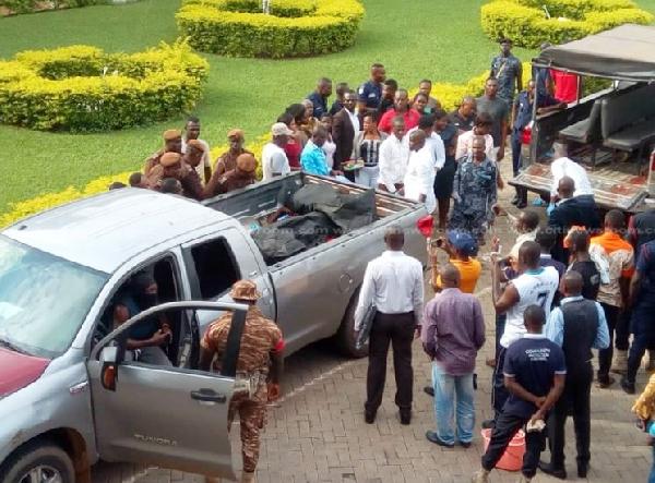 Police shots and kills 7 in bush Manso Nkwanta