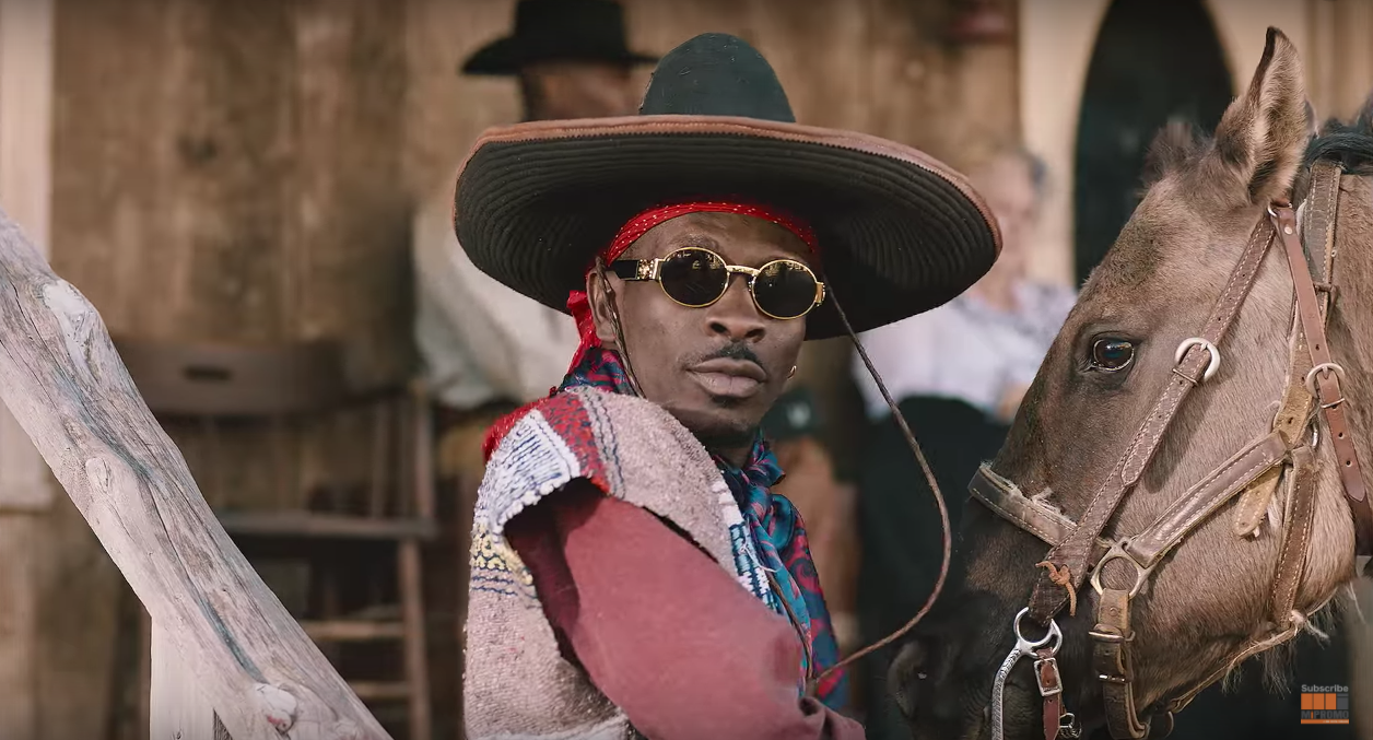 Shatta Wale's Gringo Music Video represents Ghana at AFRIMMA 2018 Awards.