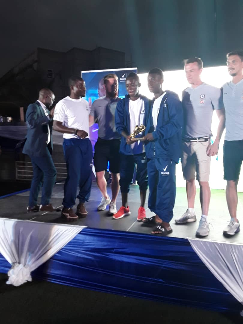 Adombila, Agyarkwa join Africa team to play Chelsea legends after winning maiden edition of Rexona Be Next Champion