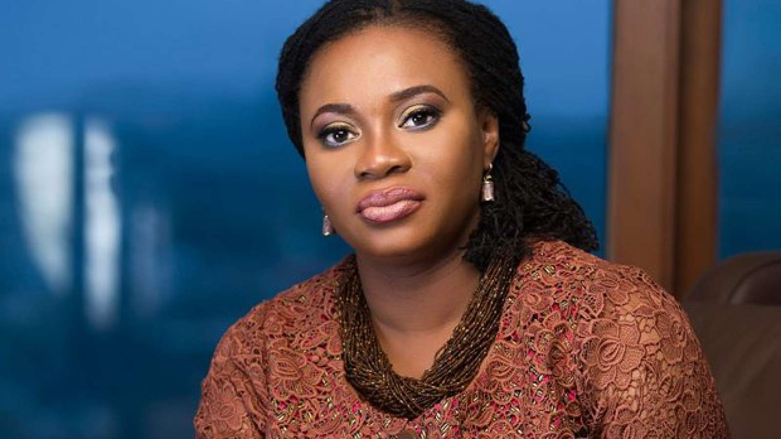 Charlotte Osei denies claims of keeping a government vehicle