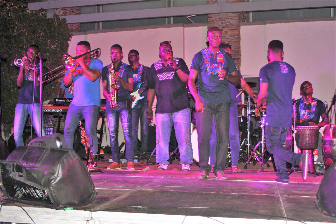 Accra Mall Thrills Fans with Live Band Music