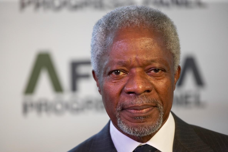 Kofi Annan The former United Nations General Secretary is Dead