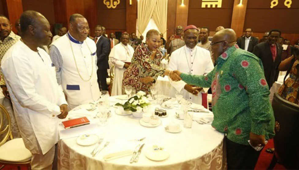 Video: Clergy okays Double Track system after meeting Akufo-Addo
