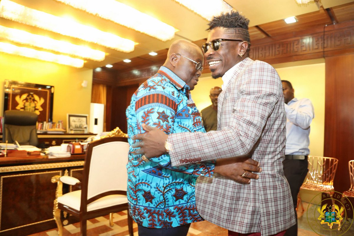 Shatta Wale call out to President Nana Addo to intervene on behalf of Menzgold