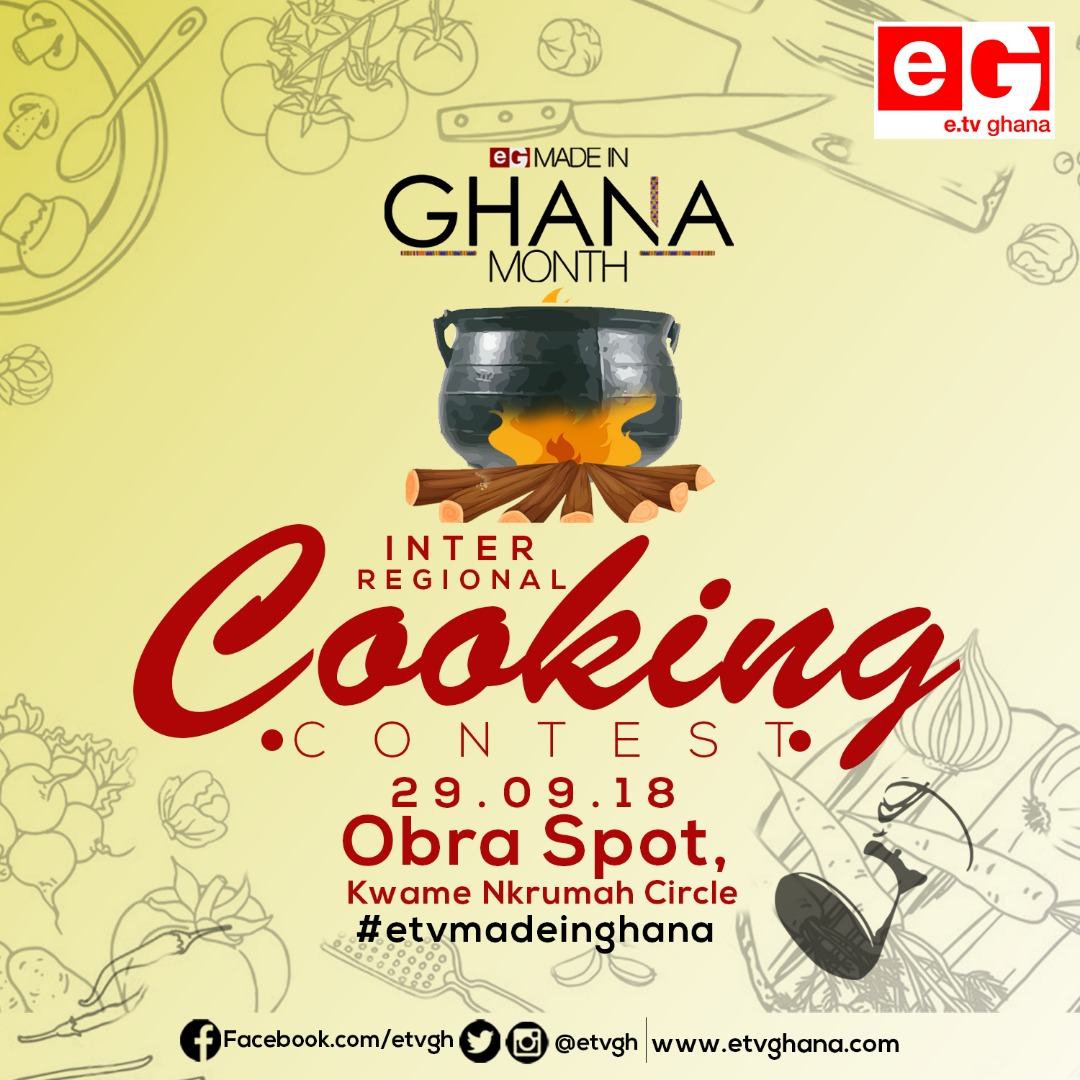 e.TV Ghana Ready For 'Made in Ghana' Cooking Competition