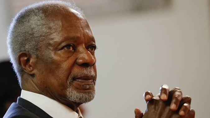 PHOTOS: All is set for Kofi Annan's funeral at AICC