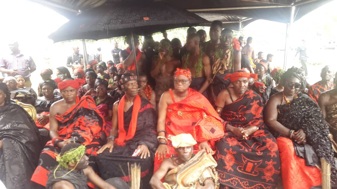 VIDEO: Rich culture displayed at Kofi Annan's funeral as traditional rulers pay their last respect