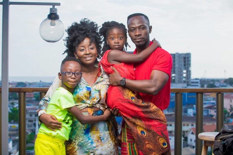 This is why Okyeame Kwame's is the most happiest wife in Ghana