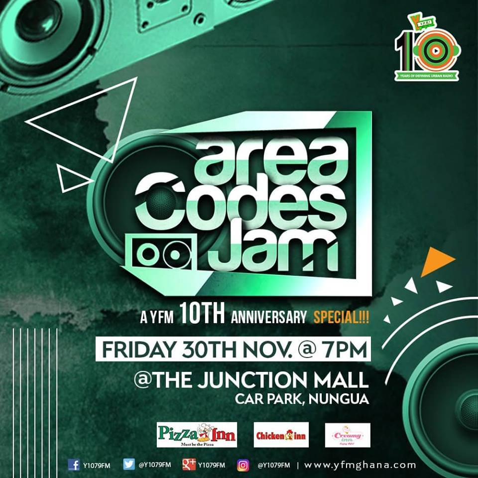 Wendy Shay, DKB, Praye and others to Rock YFM Area Codes Jam