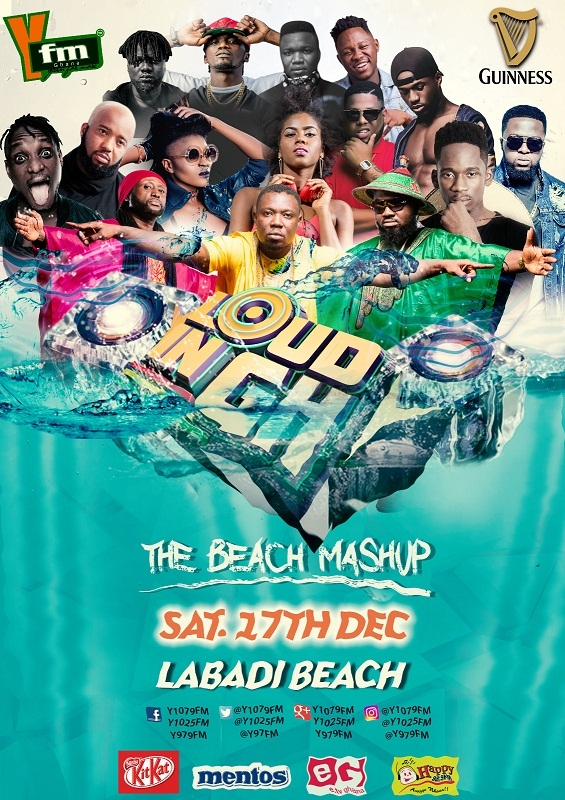 YFM Superstars to Perform At Loud In GH on Saturday