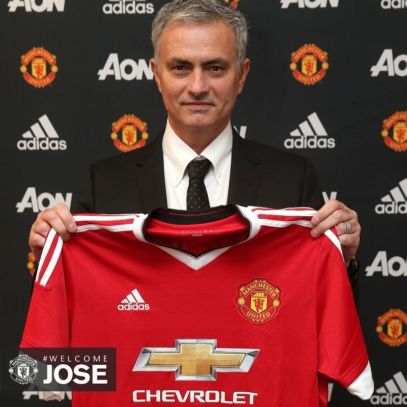 Mourinho appointed United Manager