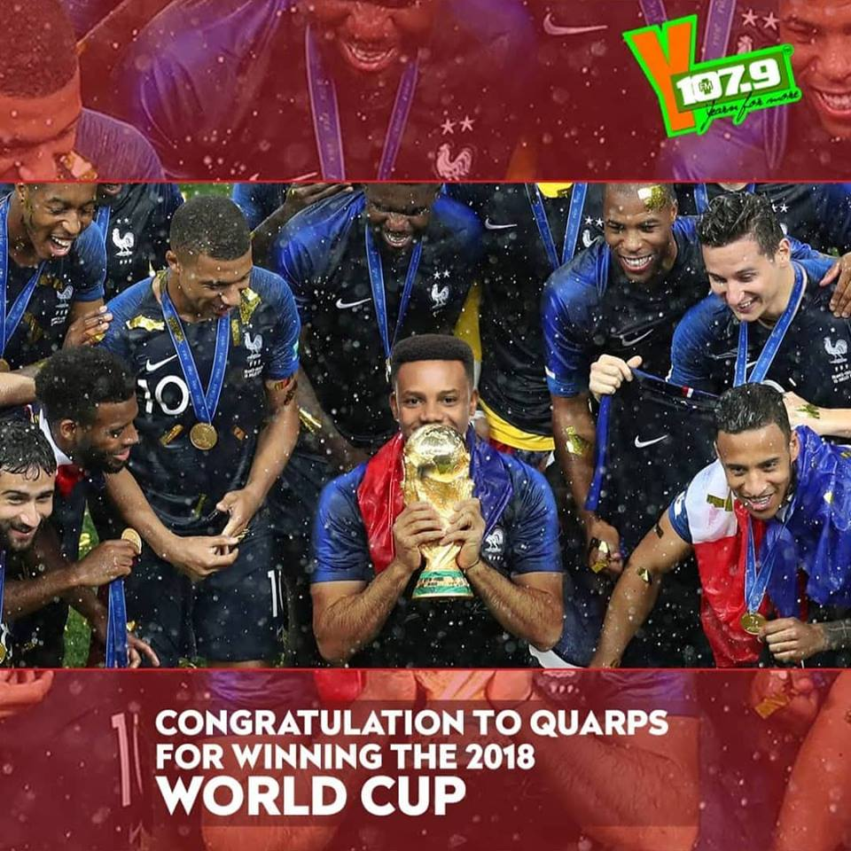 Here's YFM's TOP 11 Squard After Russia 2018 World Cup