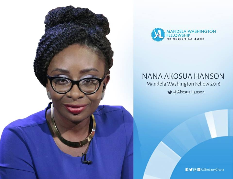 Host of The Y Lounge Akosua Hanson selected in President Obama's Young African Leadership Initiative