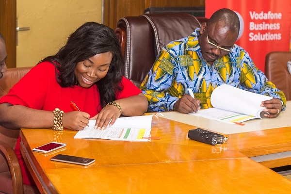 Vodafone & KNUST strike ground-breaking partnership