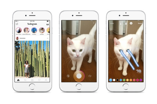 Instagram's new Stories feature looks suspiciously similiar to Snapchat's