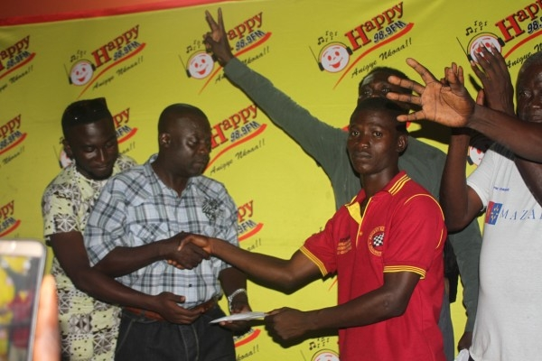 Abu National Crowned Winner Of Happy FM Damehene Championship