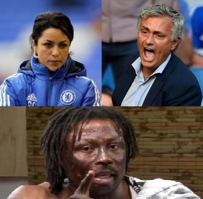 Eva Carneiro is behind Mourinho and Man United's problems – Kwaku Bonsam