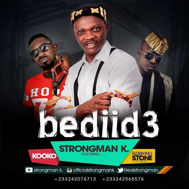 Strongman K premieres 'Bediid3' featuring Flowking Stone