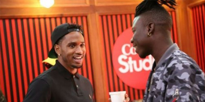 """Trey Songz crowns Stonebwoy as """"King from Ghana"""""""