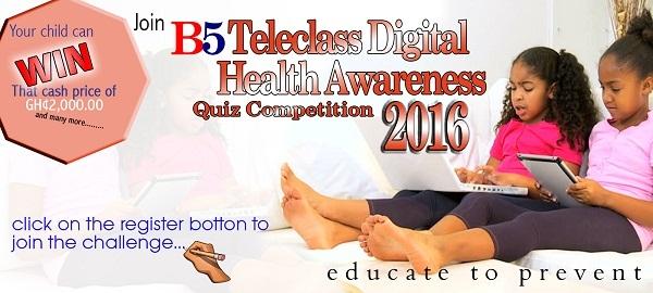 B5 Teleclass Digital Health Awareness Quiz Competition Begins September 12