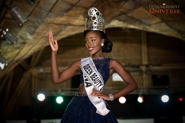 Abena Akuaba makes Ghana proud at 2016 Queen Beauty Universe