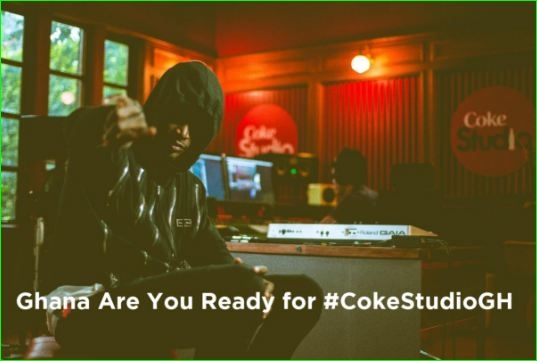 #CokeStudioGH Happening now at 805 Restaurant