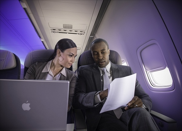 Delta is the only airline to offer Wi-Fi on every flight between Africa and the United States