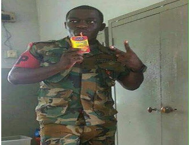 Military man in trouble for 'Kalyppo selfie'?